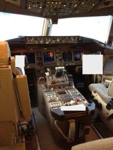 Aircraft Cockpit TSCM Inspection