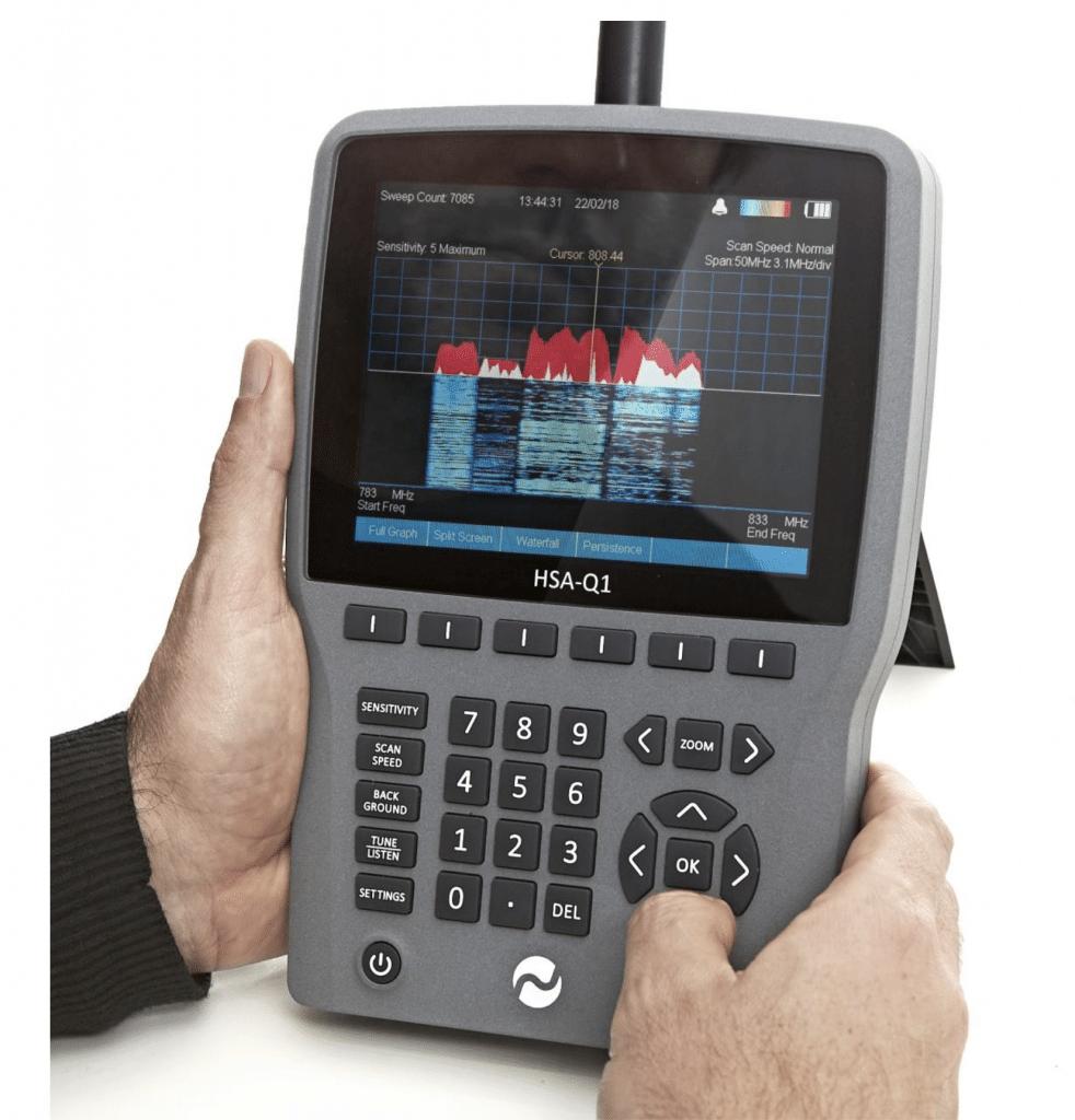 Handheld Spectrum Analyzer HSA-Q1