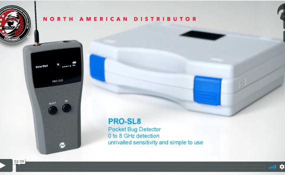 Wideband RF Detector PRO-SL8