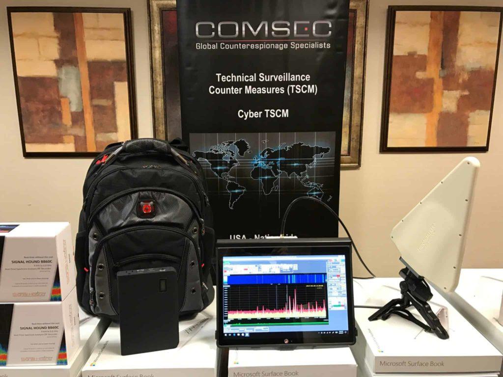 Eavesdropping Detection Equipment | ComSec LLC TSCM
