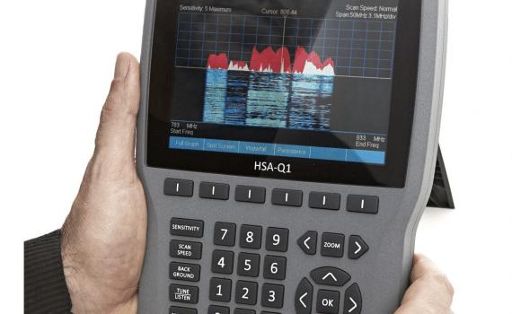 Handheld RF Spectrum Analyzer HSA-Q1